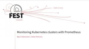 Embedded thumbnail for Monitoring Kubernates clusters with Prometheus
