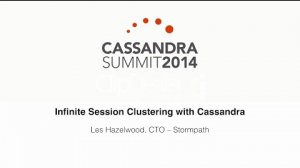 Embedded thumbnail for Stormpath: Infinite Session Clustering with Cassandra