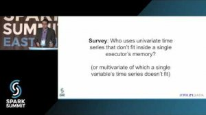Embedded thumbnail for Time Series Analytics with Spark: Spark Summit East talk by Simon Ouellette