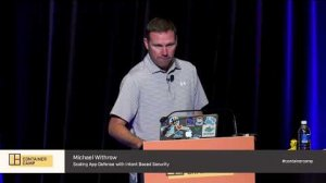Embedded thumbnail for Scaling Application Defense with Intent Based Security - Michael Withrow (Twistlock)