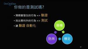 Embedded thumbnail for DevOpsDays Taipei - 網站上線了,然後呢?