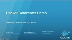 Embedded thumbnail for What's New in Docker Datacenter with Engine 1.12