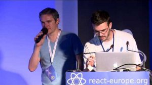 Embedded thumbnail for Thinkmill session at react-europe 2015
