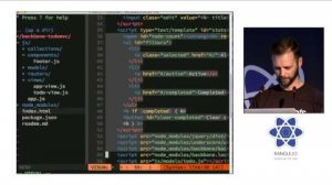 Embedded thumbnail for Don't Rewrite, React! at react-europe 2015