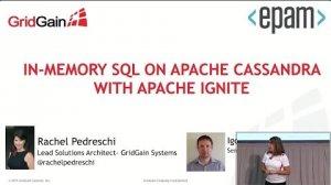 Embedded thumbnail for Fast In-Memory SQL on C* with Ignite (Rachel Pedreschi, GridGain / Igor Rudyak, EPAM) C* Summit 2016