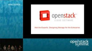 Embedded thumbnail for Ask the Experts: Designing Storage for the Enterprise