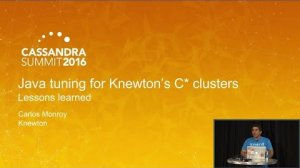 Embedded thumbnail for Lessons Learned on Java Tuning for Our Cassandra Clusters (Carlos Monroy, Knewton) | C* Summit 2016