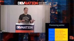 Embedded thumbnail for DevNation 2015  - Provisioning the Internet of Things