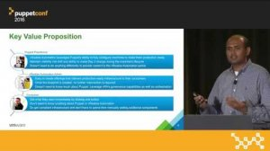 Embedded thumbnail for Puppet and vRealize Automation: The Next Generation – Ganesh Subramaniam