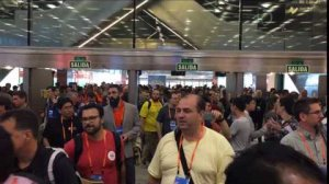 Embedded thumbnail for OpenStack Summit Barcelona Marketplace Mixer Time lapse