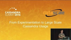 Embedded thumbnail for Moving from Experiment to Production (Christos Kalantzis, DataScale) | Cassandra Summit 2016