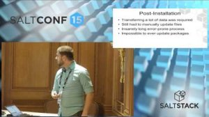 Embedded thumbnail for SaltConf15 - Good Samaritan Society - From Server Chaos to Order with SaltStack