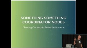 Embedded thumbnail for Optimizing Your Cluster with Coordinator Nodes (Eric Lubow, SimpleReach) | Cassandra Summit 2016