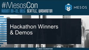 Embedded thumbnail for Hackathon Winners and Demos