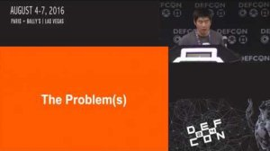 Embedded thumbnail for DEF CON 24 - Kai Zhong - 411: A framework for managing security alerts