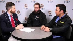Embedded thumbnail for Interview: Clay Baenziger & Amit Anand, Bloomberg - ChefConf 2015