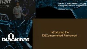Embedded thumbnail for DSCOMPROMISED: A Windows DSC Attack Framework