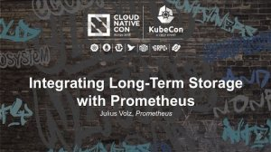 Embedded thumbnail for Integrating Long-Term Storage with Prometheus [A] - Julius Volz, Prometheus