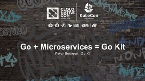 Embedded thumbnail for Go + Microservices = Go Kit [I] - Peter Bourgon, Go Kit