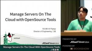Embedded thumbnail for Manage Servers On The Cloud with OpenSource Tools