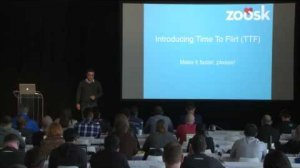 "Embedded thumbnail for FutureStack16 SF: ""Love Can't Wait!"" Aideen NasiriShargh, Zoosk"