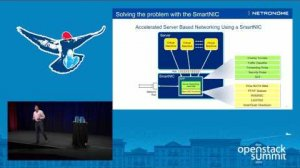 Embedded thumbnail for Netronome- Accelerating Server Based Networking in the OpenStack Cloud Using SmartNICs