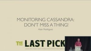 Embedded thumbnail for Monitoring Cassandra: Don't Miss a Thing (Alain Rodriguez, The Last Pickle) | C* Summit 2016
