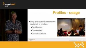 Embedded thumbnail for Puppet Best Practices: Roles & Profiles – Gary Larizza at PuppetConf 2016
