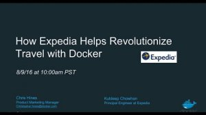 Embedded thumbnail for How Expedia Uses Docker in Production