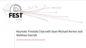 Embedded thumbnail for Keynote: Fireside Chat with Sean Michael Kerner and Matthew Garrett