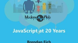 Embedded thumbnail for 【Modern Web 2015】JavaScript at 20 Years