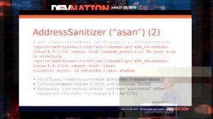 Embedded thumbnail for DevNation 2015 - Red Hat Enterprise Linux C++ Toolchains