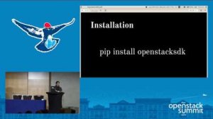 Embedded thumbnail for Getting Started with OpenStack Python SDK
