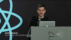 Embedded thumbnail for Andres Suarez - Moving Fast with Nuclide and Flow - React Conf 2017