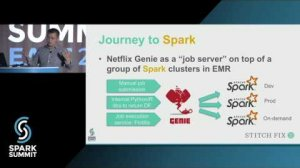 Embedded thumbnail for Migrating from Redshift to Spark at Stitch Fix: Spark Summit East talk by Sky Yin