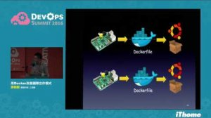 Embedded thumbnail for DevOps Summit 2016 - 用 Docker 改善團隊合作模式