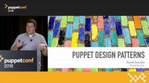 Embedded thumbnail for Puppet Design Patterns: Lessons From the Gang of Four – David Danzilio at PuppetConf 2016
