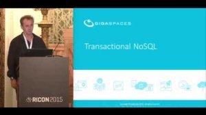 Embedded thumbnail for Distributed Transactions - Make them happen with Big Data Frameworks: DeWayne Filppi, GigaSpaces