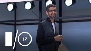 Embedded thumbnail for Google I/O Keynote (Google I/O '17)