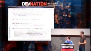 Embedded thumbnail for DevNation 2015  - Automate development with JBoss Forge