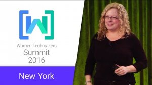 Embedded thumbnail for Women Techmakers New York Summit 2016: Keynote Address
