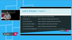 Embedded thumbnail for runC: The little engine that could (run Docker containers) - Black Belt Track