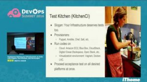Embedded thumbnail for DevOps Summit 2016 - Continuous Delivery for Infrastructure as Code with Puppet, Test Kitchen, and Serverspec