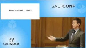 Embedded thumbnail for SaltConf15 - Taos - There and Back Again, A SaltStack Retrospective