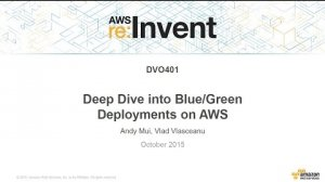 Embedded thumbnail for AWS re:Invent 2015 | (DVO401) Deep Dive into Blue/Green Deployments on AWS