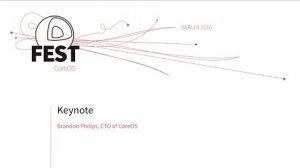 Embedded thumbnail for Keynote: Brandon Philips, CTO of CoreOS