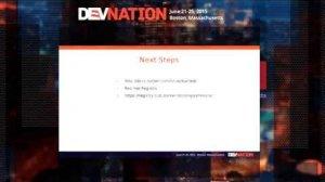 Embedded thumbnail for DevNation 2015 - Docker for developers