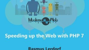Embedded thumbnail for 【Modern Web 2015】Speeding up the Web with PHP 7