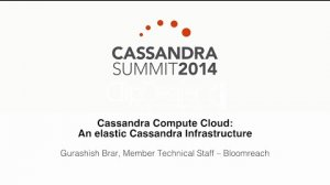 Embedded thumbnail for Bloomreach: Cassandra Compute Cloud — An Elastic Cassandra Infrastructure