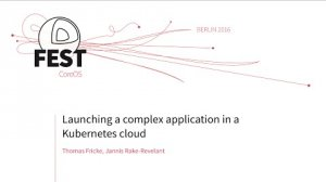 Embedded thumbnail for Launching a complex application in a Kubernetes cloud
